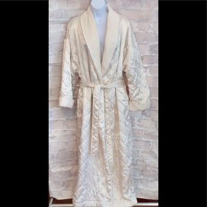 Victoria Secret Gold Label Quilted Robe